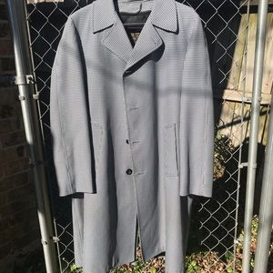 London Fog Maincoats plaid Trench Coat